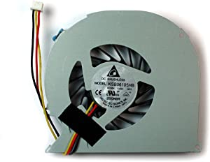 Power4Laptops Replacement Laptop Fan with No Cover for Dell Inspiron 5520