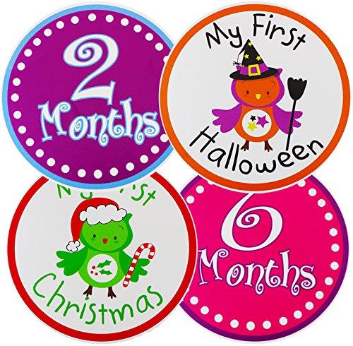 Pack 4 25 Milestone Stickers Cheer