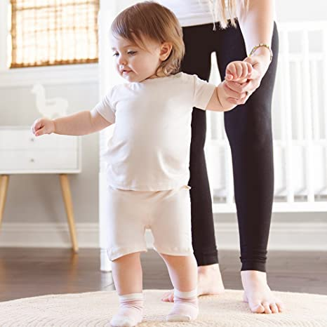 Boody Baby Socks Pack of 3 0-3 Months Chalk//Sky