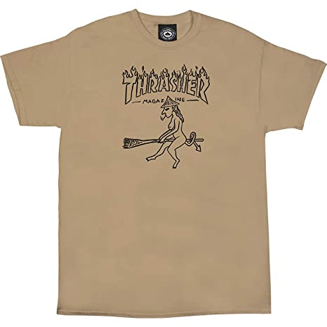 3dfe01022e99 Image Unavailable. Image not available for. Color: Thrasher Witch SS Tshirt  M-TAN