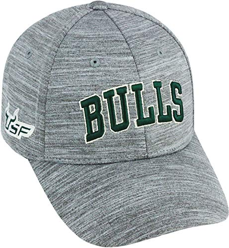 (Top of the World USF Bulls Mens So Fresh Hat One Size Light Grey)