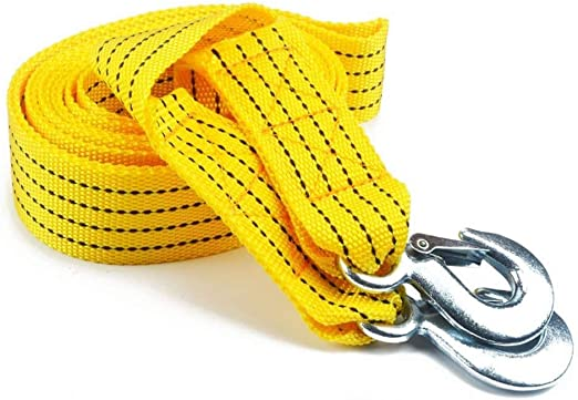Towing Belt Durable High Strength Tow Strap up to 5 Tonne for Recovery Tow with Free Carry Case