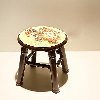 AJZGF Fashion Creative Sofa Stool Solid Wood Stool Home Modern Garden Stool  Coffee Table Stool Change