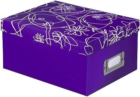 Caja/Regalo decori II, Pr 700 Fotos, 10 x 15 cm, Lila: Amazon.es ...