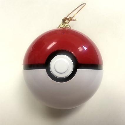 Pokemon Christmas Ornaments.Pokeball Ornament Christmas Tree Pokemon Hanging Opens And