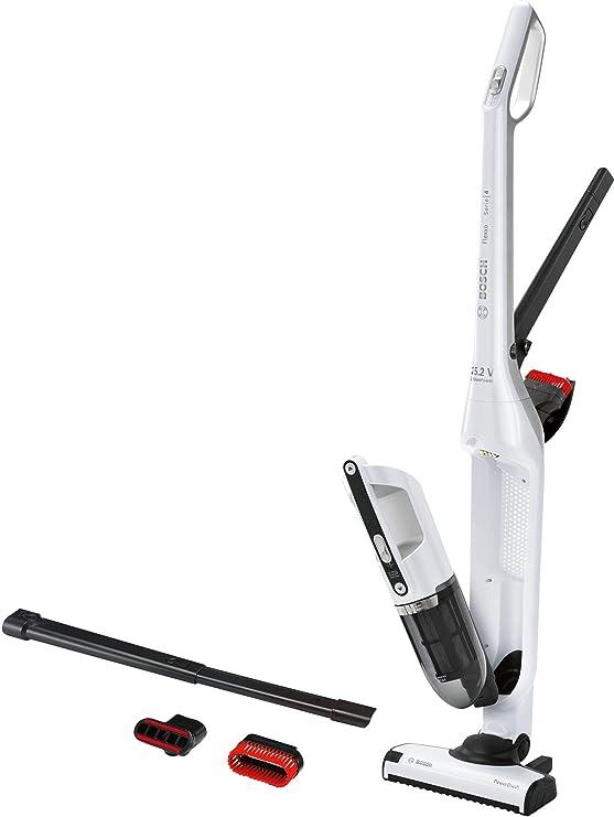 Bosch BCH3K255 aspiradora de pie y escoba eléctrica Sin bolsa Negro, Blanco 0,4 L - Aspiradora escoba (Sin bolsa, Negro, Blanco, 0,4 L, Secar, Filtrado, Batería): Amazon.es: Hogar