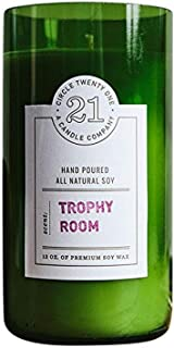 product image for Circle 21 Candles Trophy Room Scented Soy Candle, Green