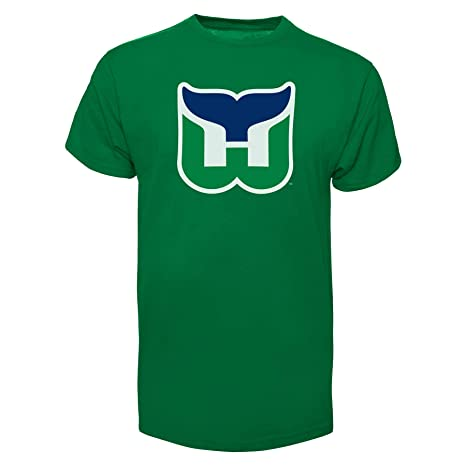 5ac615bd0 Amazon.com    47 Hartford Whalers Vintage NHL Fan T-Shirt - Medium ...