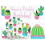 Cactus Party Supply Package for 16 Guests