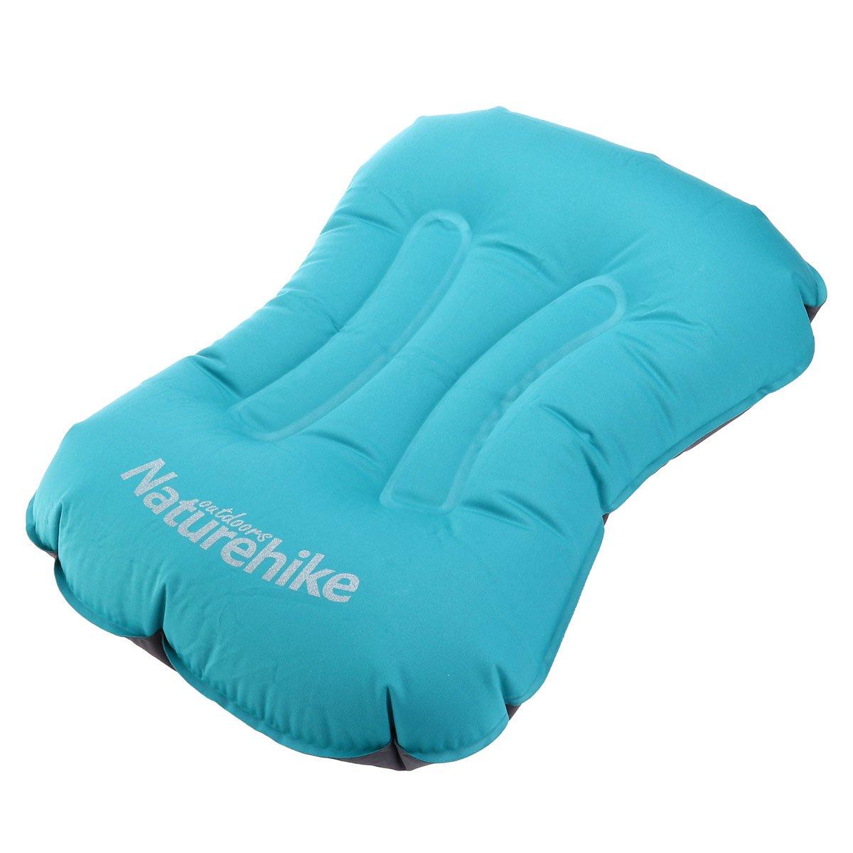 WINOMO Inflating Pillow for枕快適なポータブルコンパクトアウトドアキャンプハイキングバックパッキング、旅行(ブルー) B073GSHN42