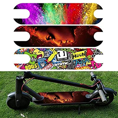 CHERRYSONG Scooter Pedal Stickers, Skateboard Griptape for Xiaomi M365, DIY Your Skateboard, Learning, Practice and Land Tricks in no time : Sports & Outdoors