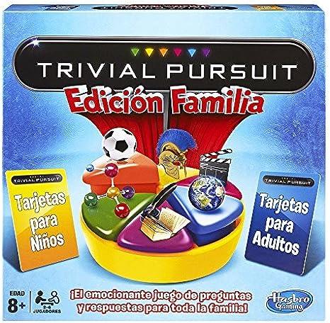 Hasbro - Juego de mesa Trivial, juego de familia (730137930): Amazon.es: Juguetes y juegos