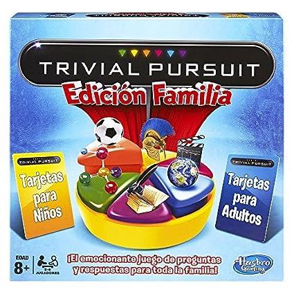 Hasbro Juego De Mesa Trivial Juego De Familia 730137930 Amazon