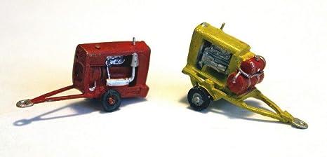 Langley Models remolque aire compresor generador electrico N escala Kit A98 sin pintar
