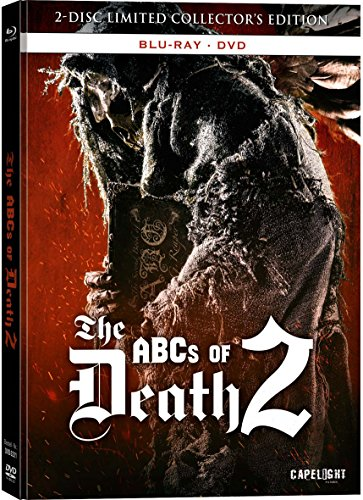 BD * BR+DVD The ABCs of Death 2 UNCUT - 2-Disc Limited Collectors Edition Mediabook [Blu-ray] [Import allemand]