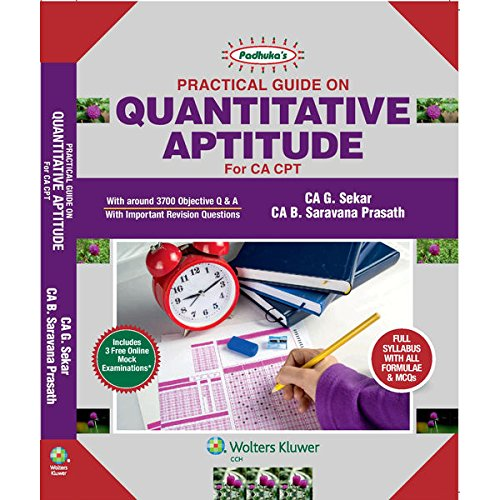 Download Padhuka' s Practical Guide On Quantitative Aptitude for CA CPT, 8E PDF