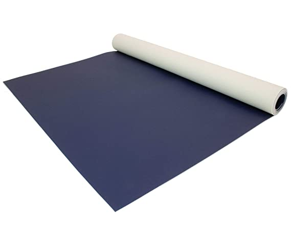 Einfarbig Grau MUSTER Uni Anthrazit PVC Boden Meterware Vinyl Schwer Entflammbar PVC Bodenbelag EXPOTOP Profi Vinylboden
