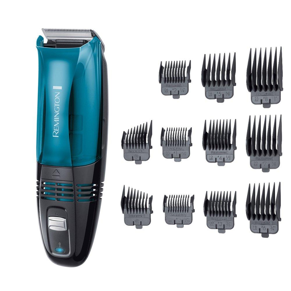 Remington Tondeuse Cheveux HC6550 Vacuum avec Système d'Aspiration