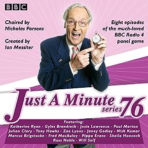 Just a Minute: Series 76 Radio/TV Program