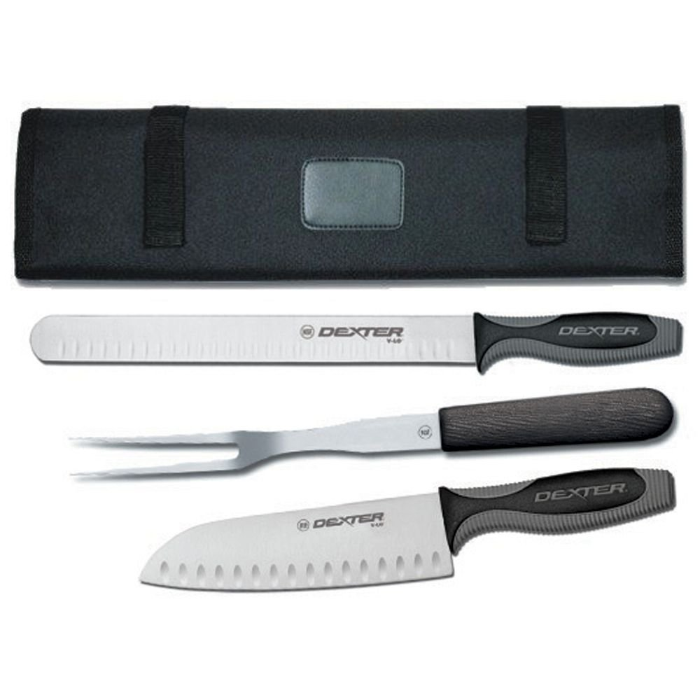 Dexter Russell VCC3 V-Lo 3-Piece Cutlery Set with Case
