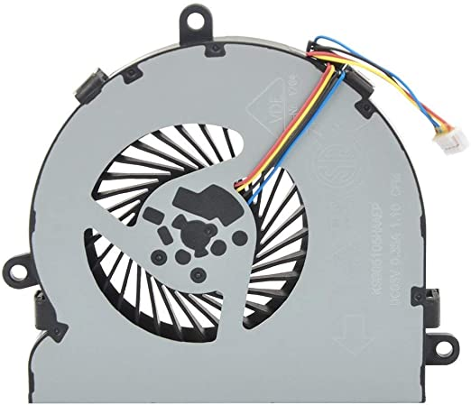 SPS 813946-001 4-Pin 4-Wire HK-Part Replacement CPU Cooling Fan Compatible HP 250 G4 255 G4 Notebook 15-AC 15-AF Series