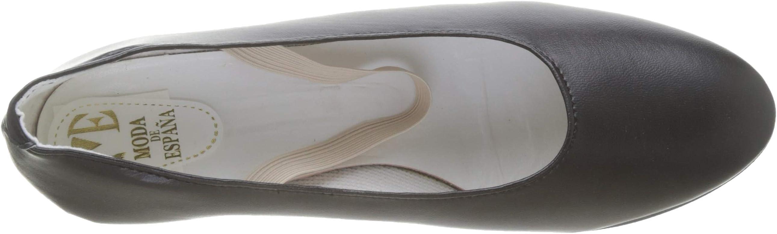Zapatos Flamenca - Calzado de Danza para Mujer, Color Negro, Talla ...