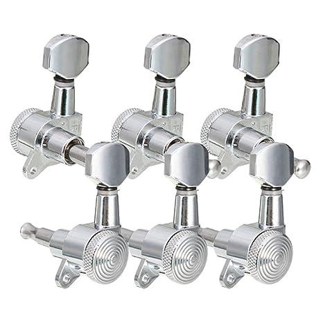 Afinadores de bloqueo de metal Afinadores de guitarra Cabezales de la máquina Clavijas de afinación Llaves