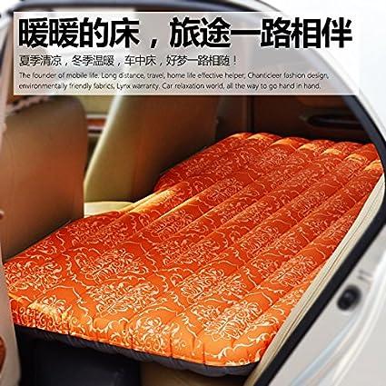 FACAI888 Colchón de aire de viaje de coche automóvil cama inflable colchón inflable vehículo multifuncional ,