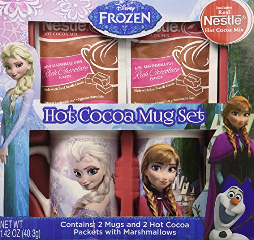 Frankford Candy Company Frozen amp Nestle Cocoa Mug Gift Set Milk Chocolate