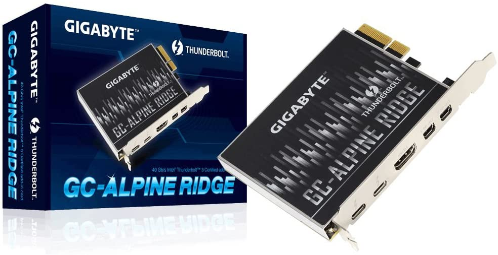 Gigabyte (Alpine Ridge Thunderbolt 3 PCIe Card Components Other GC-Alpine Ridge
