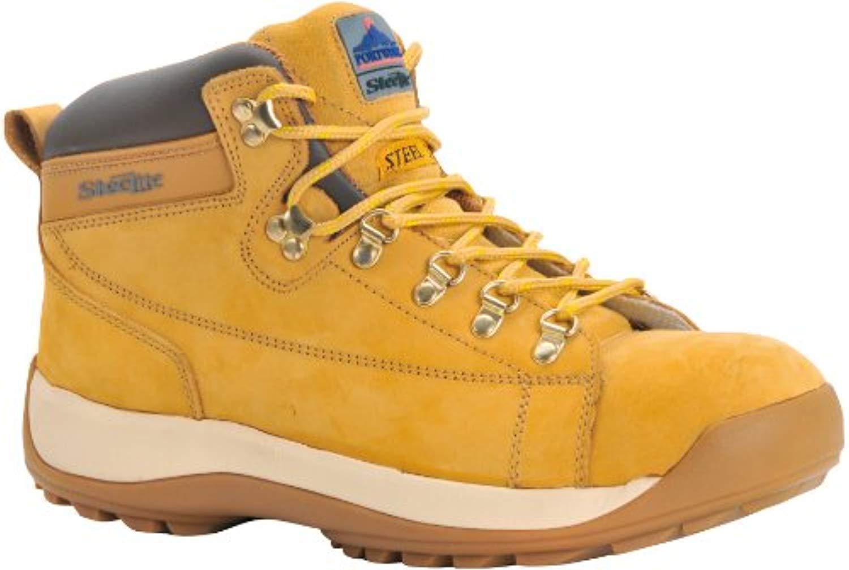 Portwest Steelite Mid Cut Nubuck Boot Honey 11.5 R & Bandana Bundle