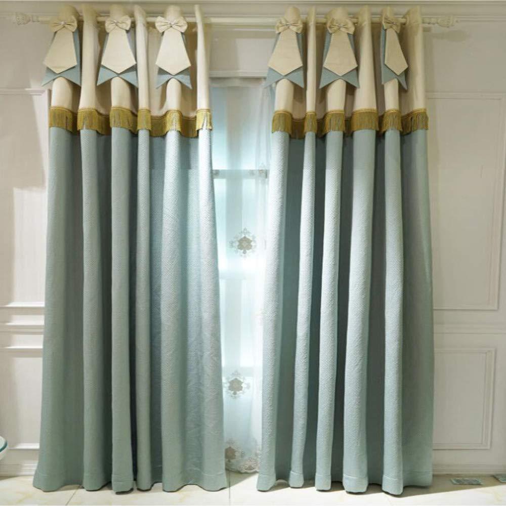 Cortinas color negro apagón Salas modernas Conjunto Blanco Dormitorio de cocina de aislamiento térmico