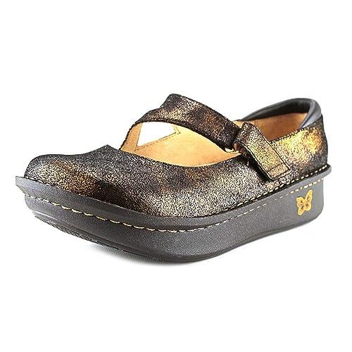 Alegria Dayna Mujer Piel Mocasines Zapatos Nuevo: Amazon.es: Zapatos y complementos
