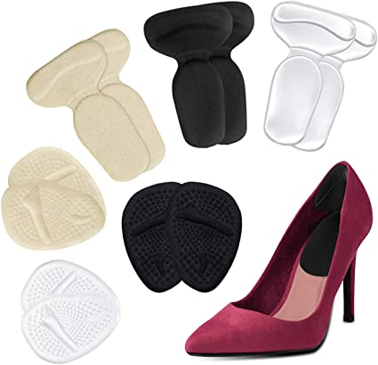 Foot Care Women Heel Grips Liner Silicone Gel Shoe Inserts Insole Pad Cushion