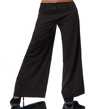 2b48c28b8b Diva-Jeans H930 Damen Business Stoffhose Elegante Bootcut Hose Classic  Schlaghose Schlag, Farben: