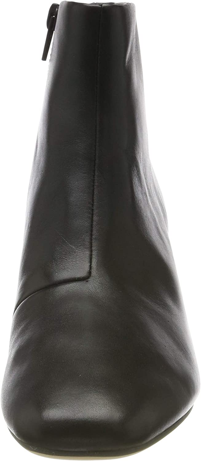 Clarks Sheer Flora, Bottes Chelsea Femme Noir Black Leather Black Leather