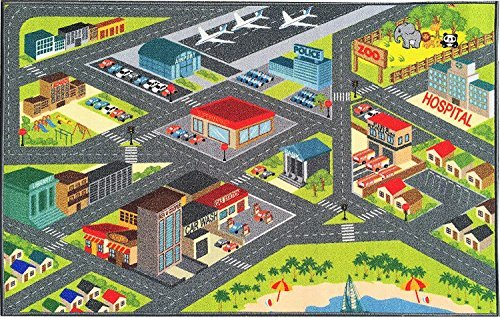Kev & Cooper Playtime Collection Road Map Educational Area R