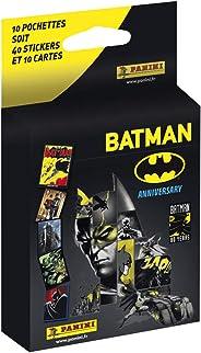 Batman 80. Blíster. 10 sobres, 40 estampas + 10 tarjetas.
