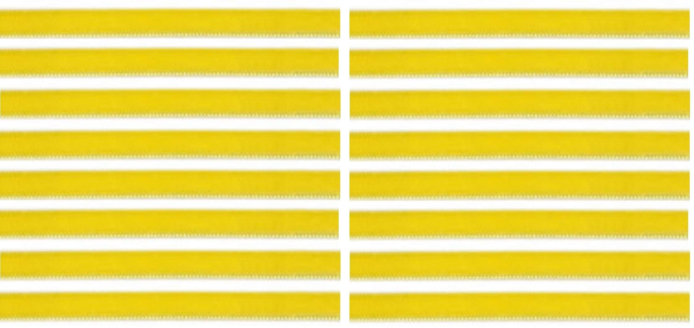 Yellow Color Replacement Cleaning Strips (16-Pack) VPI Okki Nokki 3M LP Vinyl Record Album