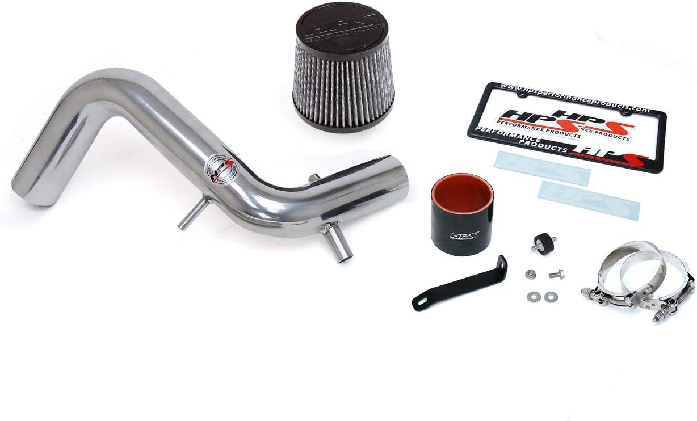 1 Pack HPS 827-605WB Black Shortram Air Intake Kit Cool