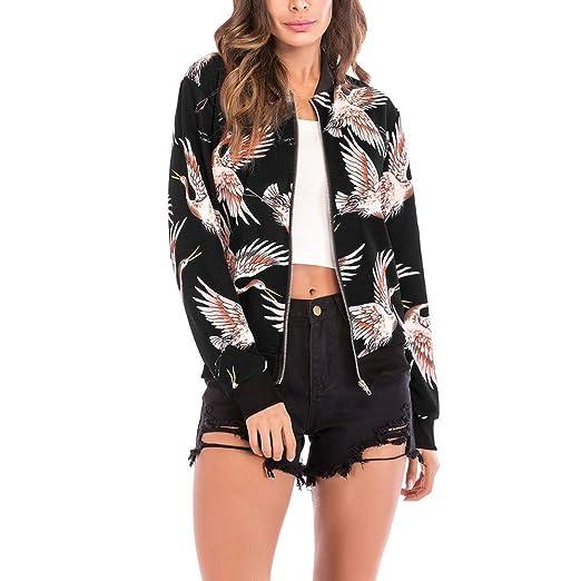 6c197abe4 Amazon.com: Londony New Seasons Coat Sale,Boyfriend Flamingo Bird ...