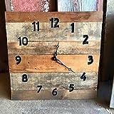 20x20 Handmade Reclaimed Wood Clock