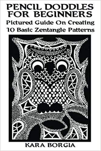 Pencil Doodles For Beginners Pictured Guide On Creating 60 Basic Fascinating Zentangle Patterns