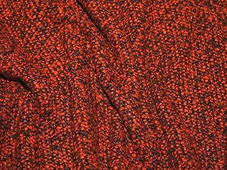 Italiano Boucle abrigo de Tweed peso vestido Tela Ginger - por metro: Amazon.es: Hogar