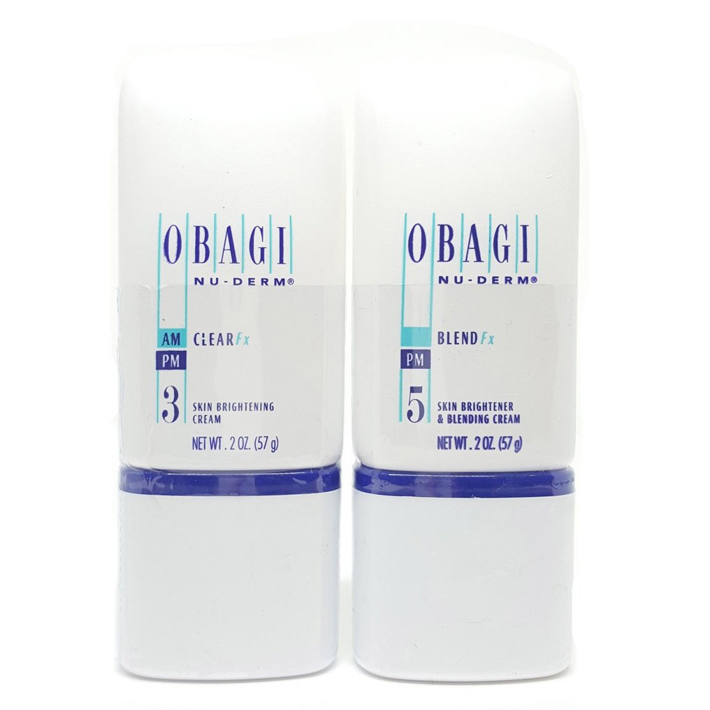 Obagi Skin Care 2-ounce Nu-Derm Clear Fx and Blend Fx 2-piece Gift Set