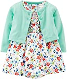 Carter's 2 Piece Print Dress Set (Baby) - Floral-Newborn