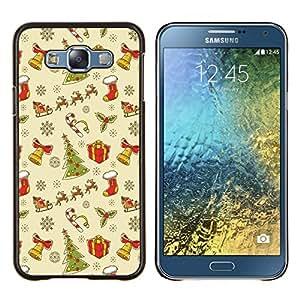 Dragon Case - FOR Samsung Galaxy E7 E7000 - Christmas gift - Caja protectora de pl??stico duro de la cubierta Dise?¡Ào Slim Fit