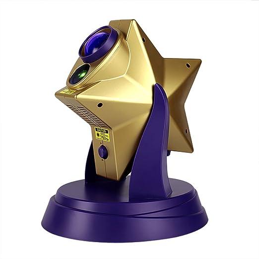 Giratoria Proyector de Estrellas luz del proyector los amantes LED ...
