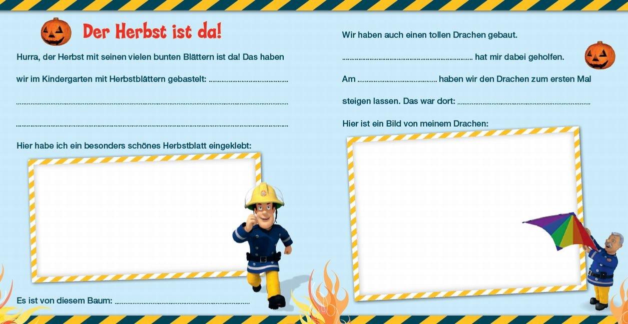 KindergartenalbumFeuerwehrmann SamMeine KindergartenzeitBuch