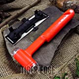 New SURVIVAL TOOL   Orange Emergency Hammer Multi-Tool